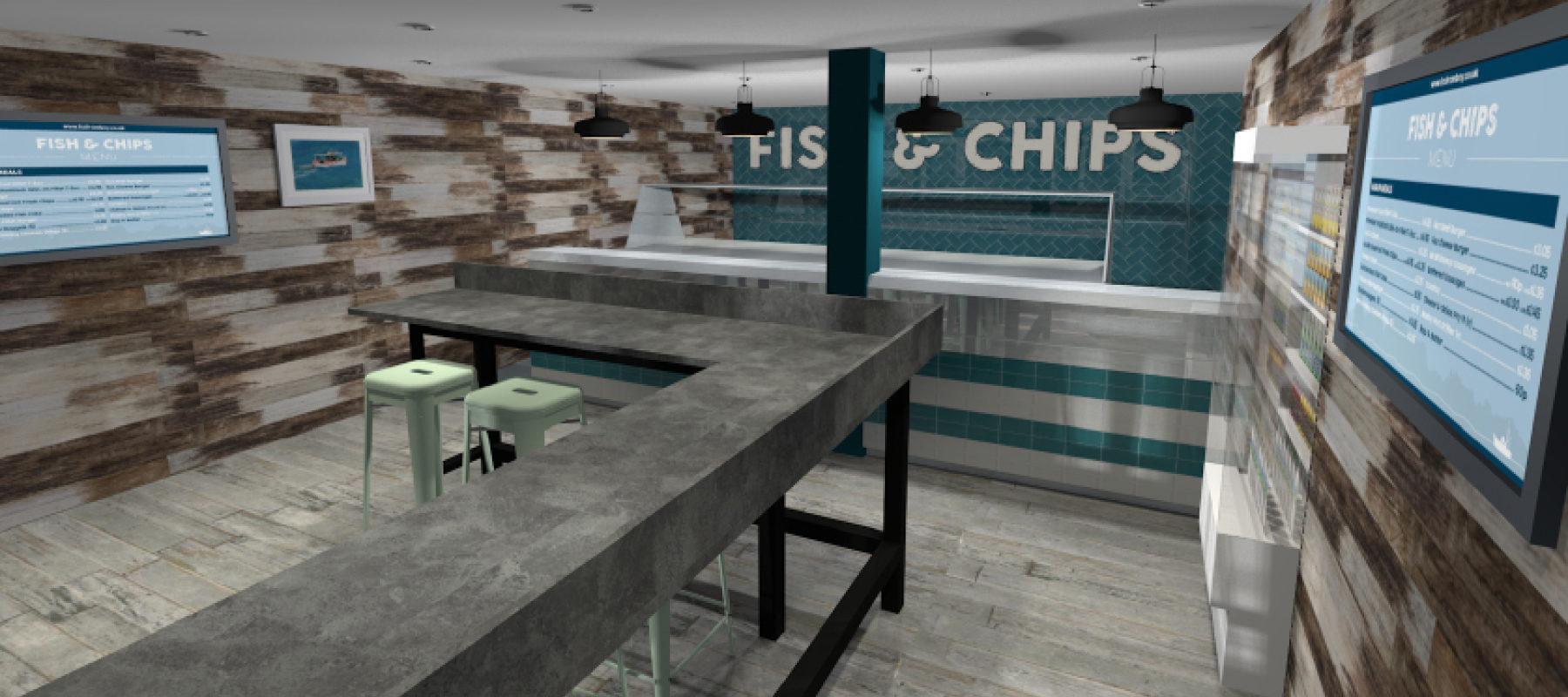 First look at Ladram Bay's new Chip Shop
