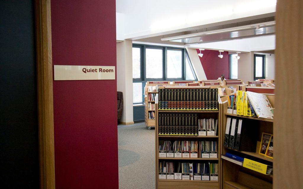 Paignton library fruition interior design for devon for Interior design agency uk