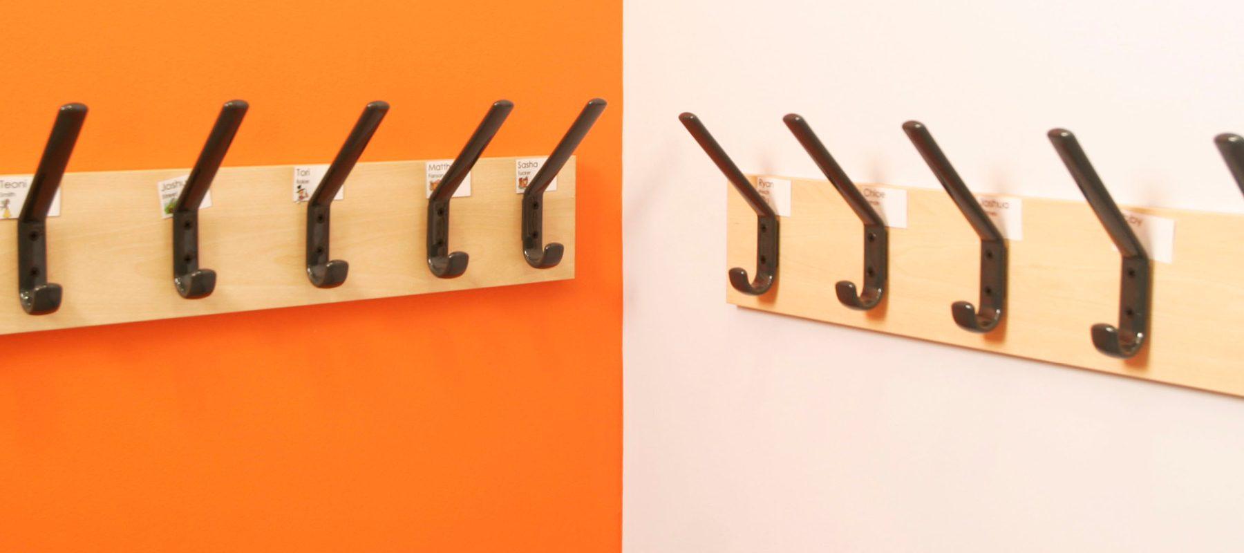 coat hook interior design colour theory