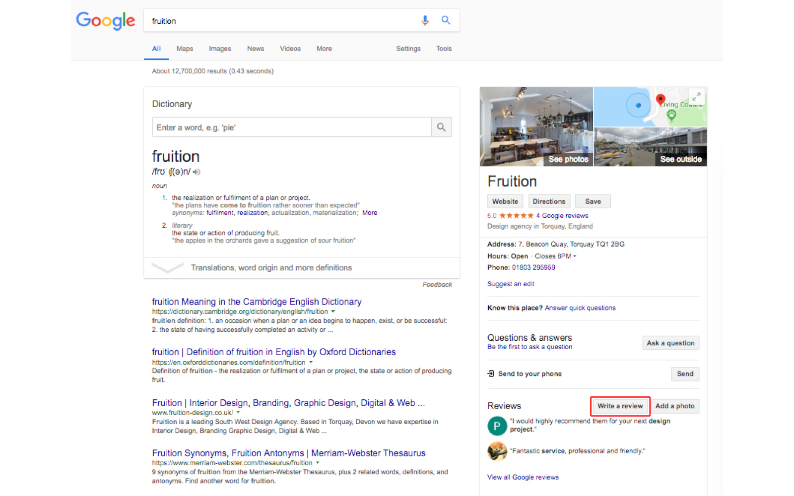 The importance of Google Reviews and how to write them