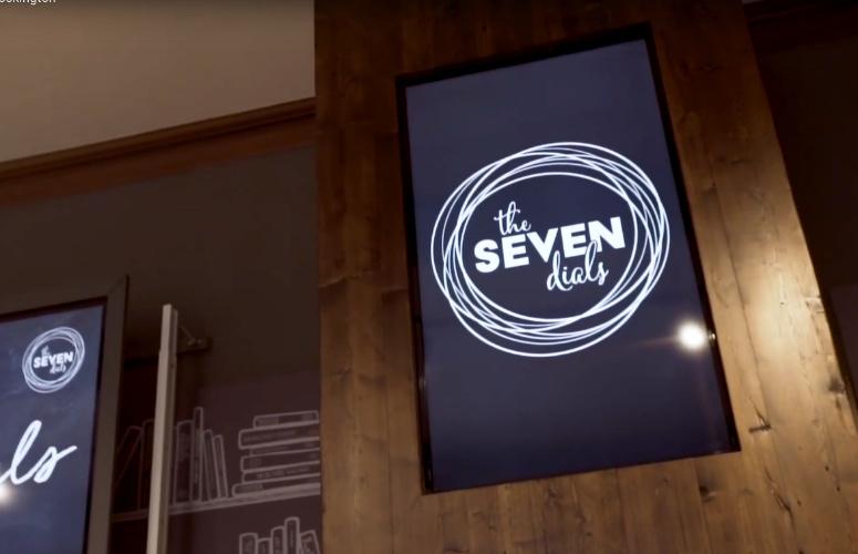 The Seven Dials at Cockington
