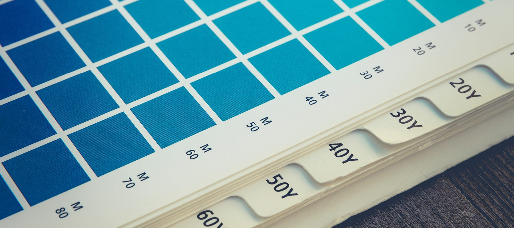 colour swatch stock image business design
